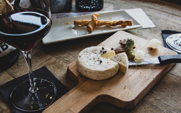 mad og vin