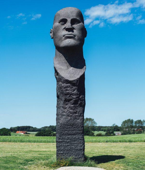 flot skulptur på Lolland