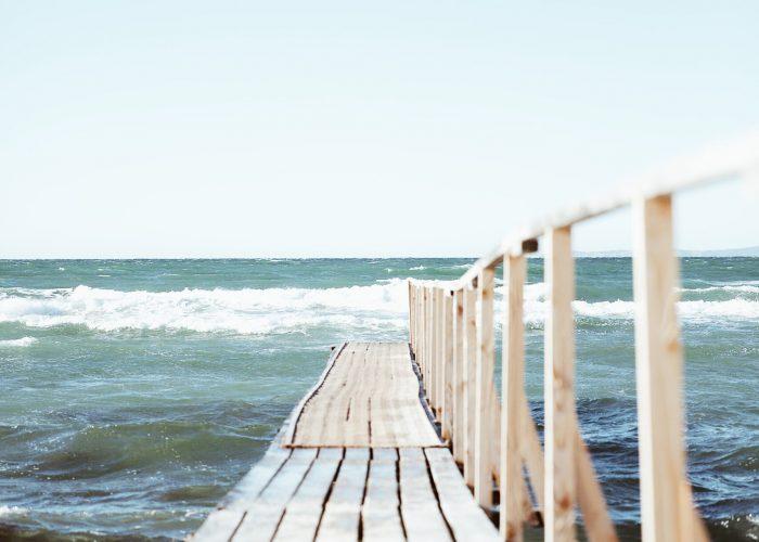 sommer ved havet i Jylland